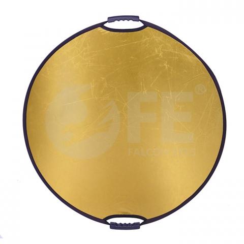 Falcon Eyes CFR-32G HL отражатель круглый 82 см с ручками цвет золотой
