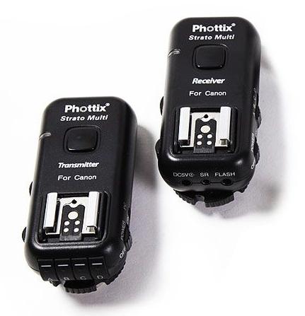 Phottix Strato II 2.4 GHz (15651) комплект радиосинхронизаторов 5 в 1 для Canon