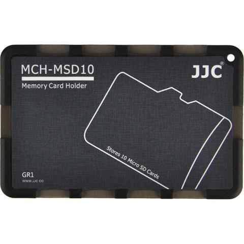 JJC MCH-MSD10GR кейс для карт памяти microSD