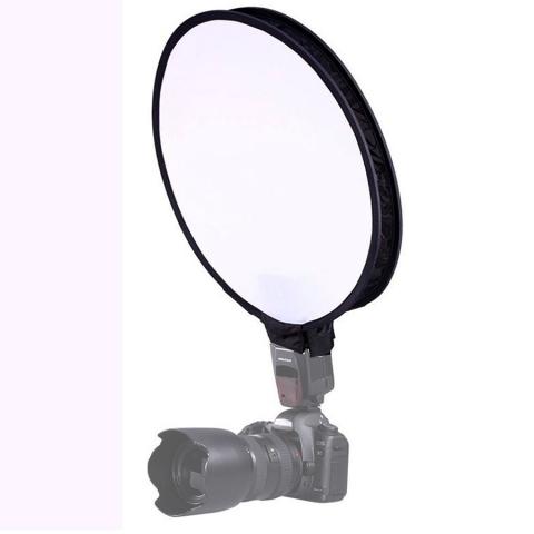 Fotokvant SBK-40 софтбокс круглый 40 см для накамерной вспышки