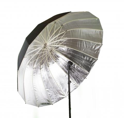 Fotokvant U-104S Para параболический глубокий зонт серебряный 104 см