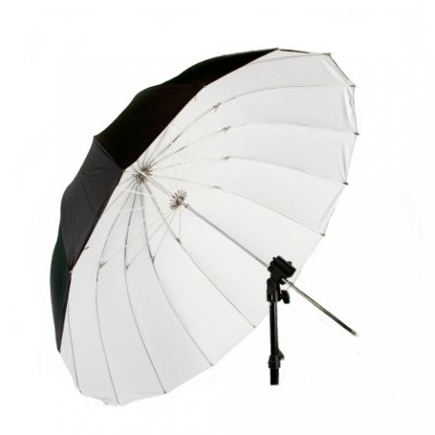 Fotokvant U-104W Para параболический глубокий зонт 104 см белый на отражение