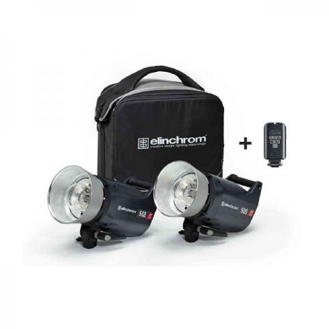 Elinchrom ELC Pro HD 500/500 (20662.2) комплект импульсного освещения