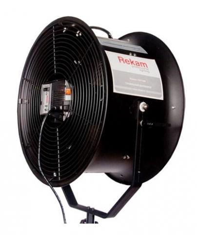 Rekam TWT-1000 студийный туннельный вентилятор с ИК-пультом управления