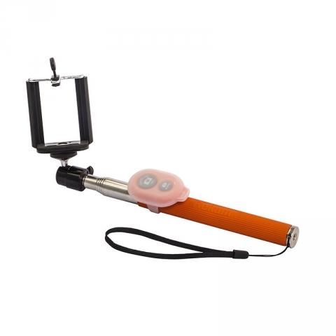 Rekam Беспроводной монопод для селфи SelfiPod S-450R (оранжевый, с пультом управления)