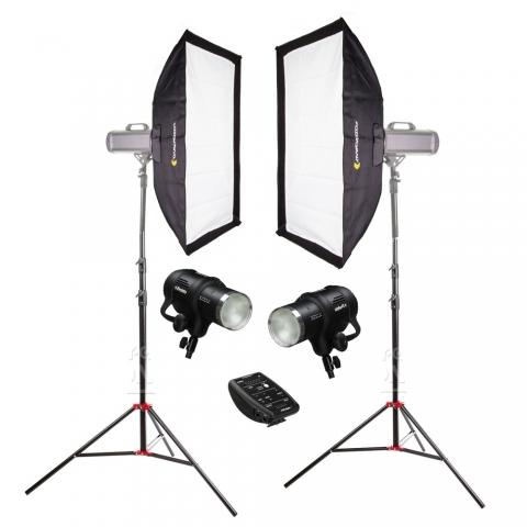 Profoto SoftKit универсальный комплект импульсного света для фотостудии