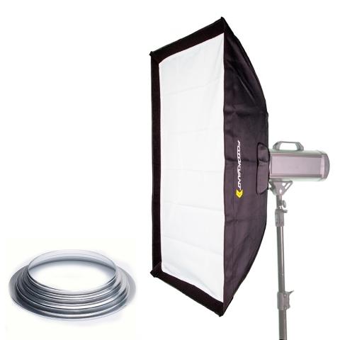 Fotokvant SB-80120HE софтбокс 80х120 см с адаптером Hensel
