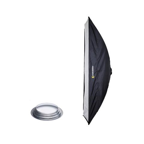 Fotokvant SB-30120HE стрипбокс 30х120 см с адаптером Hensel