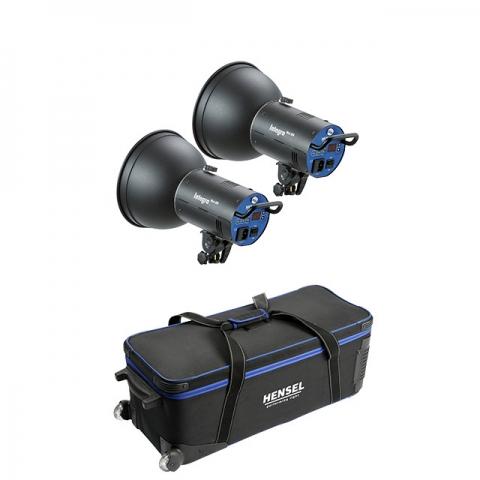 Hensel Integra Mini 300 (8370P4201) комплект студийных осветителей 2 шт.