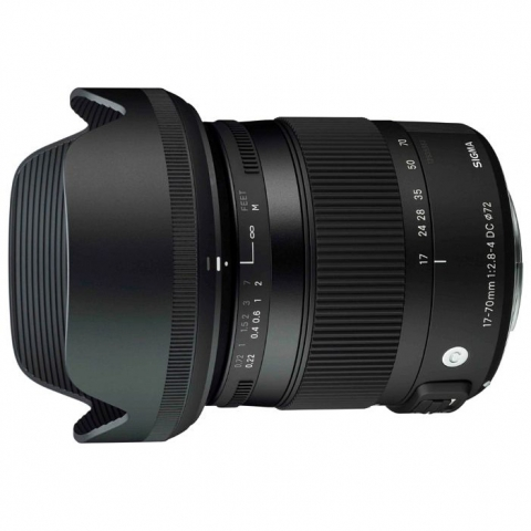 Sigma AF 17-70mm f/2.8-4 DC MACRO OS HSM New NIKON объектив