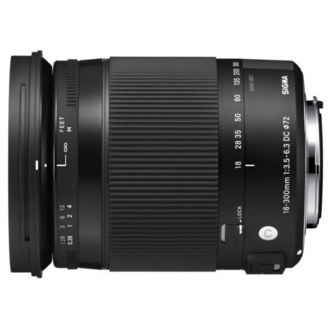 Sigma AF 18-300mm F3.5-6.3 DC MACRO OS HSM C NIKON объектив