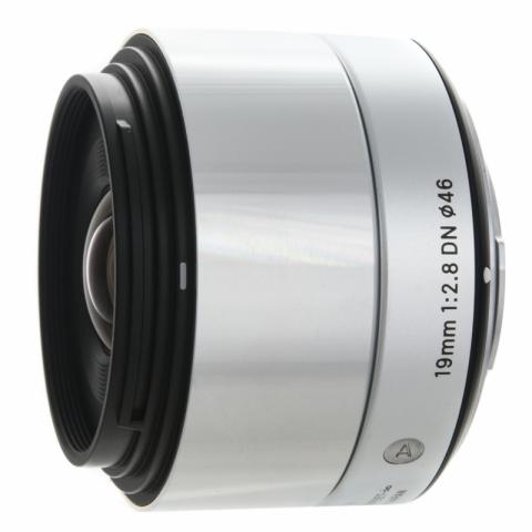 Sigma 19 mm f/2.8 DN Art Sony E Silver объектив