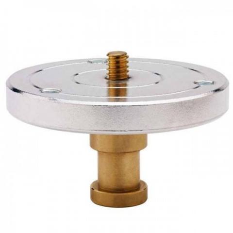 Kupo KS024 1/4'' head mounting plate w/ 5/8'' stud крепежная площадка