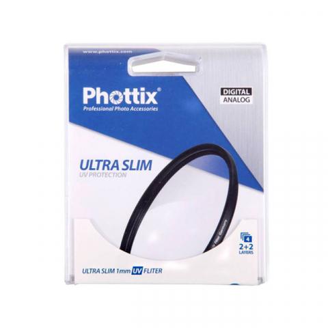 Phottix (40421) Ultra Slim 1mm UV фильтр ультрафиолетовый 52 мм
