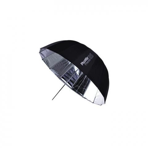 Phottix (85372) Premio S&B зонт-отражатель черный/серебро 85 см