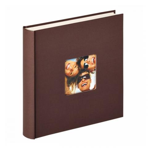 Walther  ME-110-P Fun фотоальбом на 200 фото 10x15 коричневый