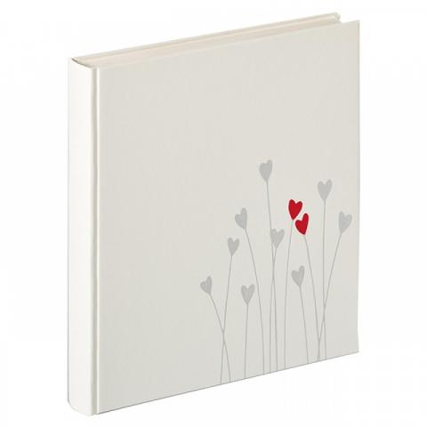 Walther UH-202 Bleeding Heart фотоальбом свадьба 50 белых страниц 28x30.5 белый