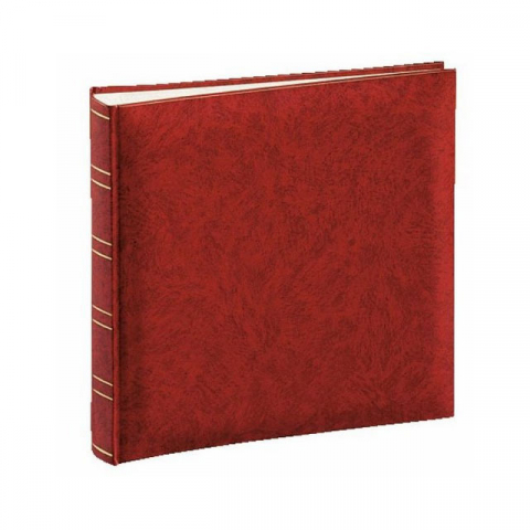 Henzo 10012 Basicline фотоальбом 60 белых страниц 25x24.5 красный
