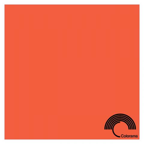 Colorama CO195 Mandarin фон бумажный 2,72х11 цвет мандариновый