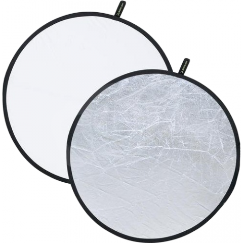 Falcon Eyes CFR-22S отражатель двухсторонний серебро/белый 56 см