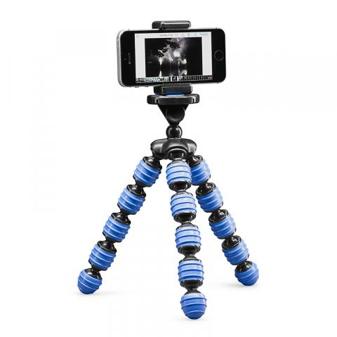 Cullmann ALPHA 350 mobile Blue настольный штатив с держателем смартфона