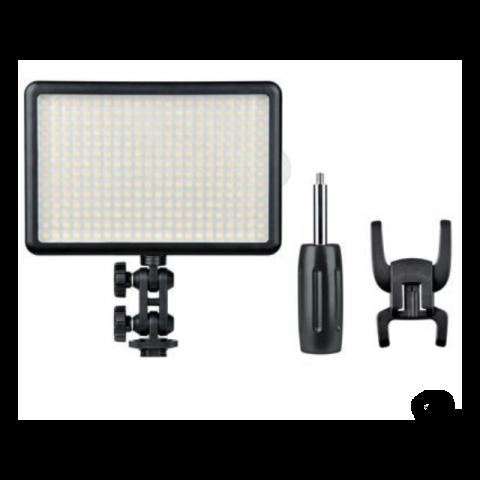Grifon LED-308C remote LED-осветитель для камеры, 308 диодов, с пультом ДУ, Т=3300-5600 К