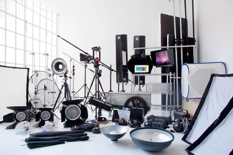 одна перечень оборудования для фотостудии цикл